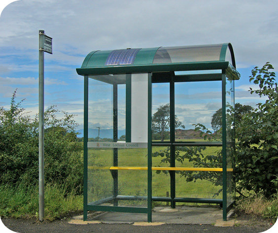 Bus Shelter Solar Lighting Ecoplanet Energy